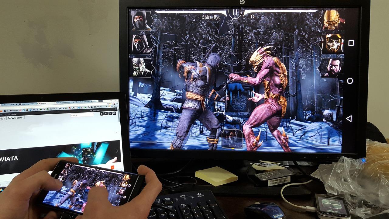 Les bienfaits des jeux mobiles.